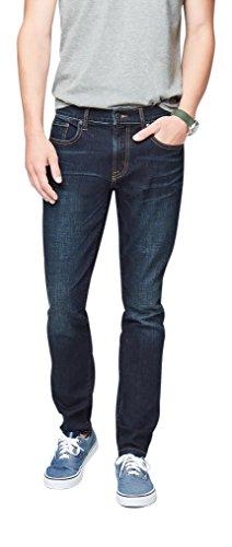 Aeropostale Men's Super Skinny Dark Wash Reflex Jean 40 Dark Wash
