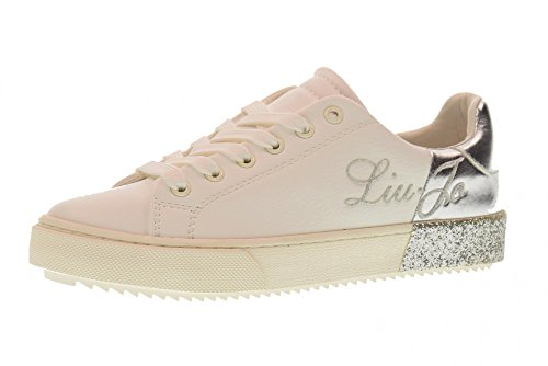 LIU JO GIRL Shoes Woman Low Sneakers L3A4-00060-0036X025 Size 31 White  210cbd1b31f