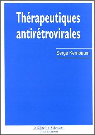 Livres gratuits en ligne Thérapeutiques antirétrovirales pdf ebook