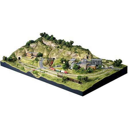 - Woodland Scenics N Scale Scenic Ridge Layout Kit