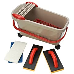 Barwalt Ultra Grouting System This complete grouting system will cut your grouting time by 30-50% and you will never squeeze a sponge again! The slits in the sponge trap more grouting materials than a conventional sponge and the grating in th...