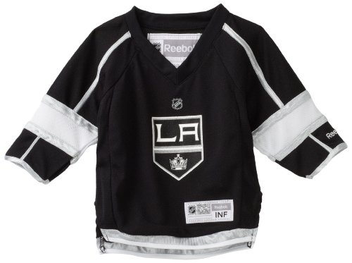 NHL Infant Los Angeles Kings Team Color Replica Jersey - R52Hwbhh (Black, 12-24 Months)