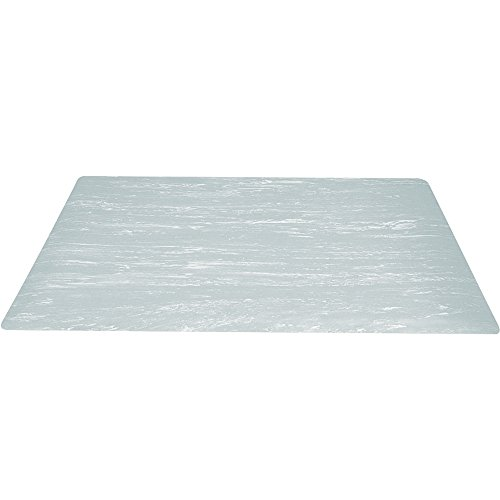Box Partners Marble Sof-Tyle Grande Anti-Fatigue Mat, 2' X 6', Gray (MAT204GY)