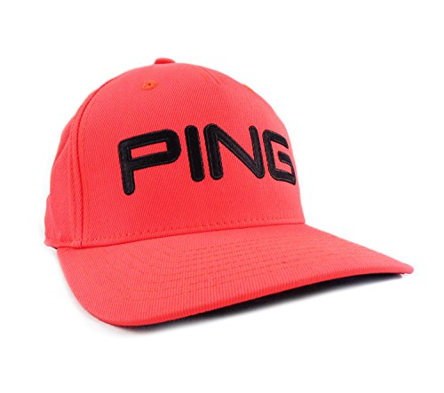PING Tour Structured Hat (Bright Red/Black, L/XL 2017) Golf