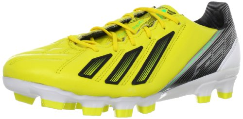 Adidas adizero F50 TRX FG LEA Fu?Zapatos de la bola zapatos amarillo - amarillo