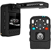 KOONLUNG X2 HD 1296P Infrared Night Vision Body Camera Security IR Cam ,One Touch Video Recording /Photograph,Mini Handsfree Body Worn Camera, Body Security & Surveillance Camera, Storage 32G