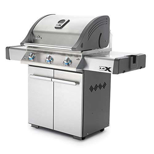 Napoleon Grills LEX485PSS-1 LEX485PSS1 Propane Gas Grill, Stainless Steel (Napoleon Grill Gas)