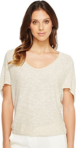 Top Raffia (NIC+ZOE Women's Light Flutter Top Wild Raffia Shirt)
