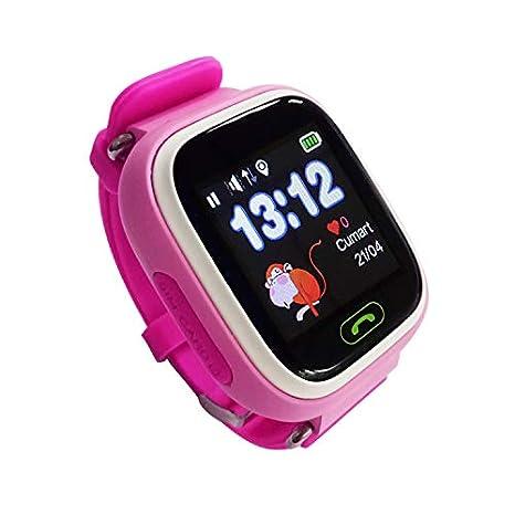 Leotec LESWKIDS02P Smartwatch Kids Way GPS Rosa: Amazon.es: Relojes
