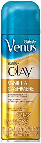 Gillette Venus & Olay Shave Gel - 7 oz - Vanilla Cashmere
