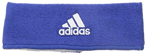 Adidas Reversible Jacket (Adidas Interval Reversible Headband, Collegiate Royal/White / White/Collegiate Royal, One Size Fits All)