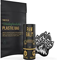 Säker Organic Dog Paw Balm - Premium Paw Soother Heals Dry, Cracked, Irritated Dog Paw Pads | Protects Against