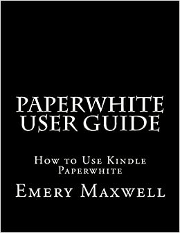 kindle paperwhite user s manual