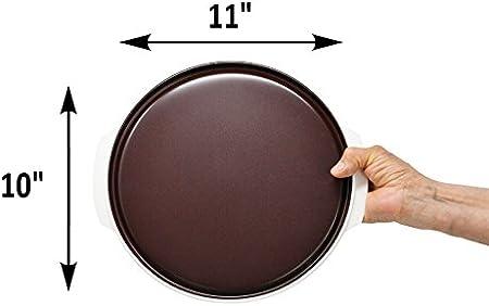 Amazon.com: Microondas bandeja freidora de Browning | Placa ...