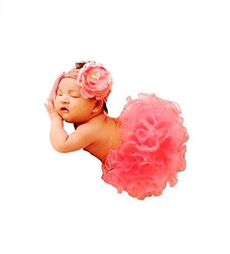 Newborn Baby Photography Prop, CiaraQ's Girl Tutu Skirt with