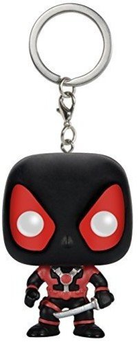 Chaveiro Deadpool Black - Marvel - Pocket Pop! Funko