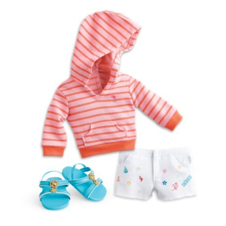 - American Girl - Seaside Fun Outfit for Dolls - Truly Me 2015