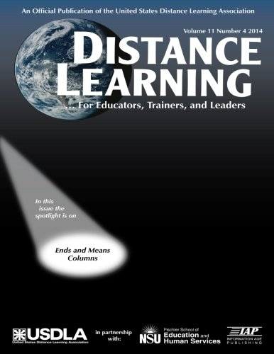 Distance Learning: Volume 11 #4 (Distance Learning Journal #4)