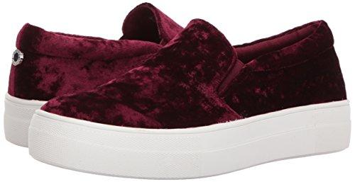 Steve Sneakers Velvet Gema Madden Women''s Burgundy YvxvRq74w