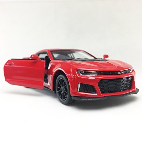 2017 Chevrolet Chevy Camaro ZL 1 Red Color Kinsmart 1:38 Die-Cast,Model,Toy,Car,Collectible,Collection