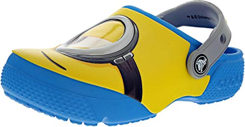 crocs Kids' Crocsfunlab Minions Clog, Ocean, 11 M US Little Kid