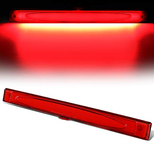 3D LED Bar 3rd Third Tail Brake Light Rear Center Parking Lamp Red for 05-13 Chevy Corvette Corvette Third Brake Light