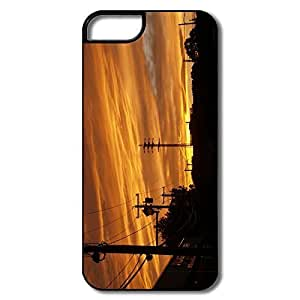 Case For HTC One M8 Cover Case, Sunset Cover Case For HTC One M8 CoverWhite/black Hard Plastic