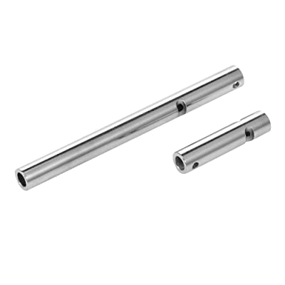 GoolRC Stainless Steel Axle Tubes for Axial Wraith AX10 RR10 RC Car: Toys & Games