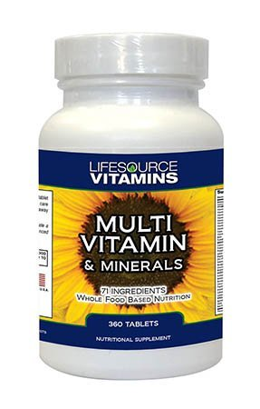 LifeSource Multi Vitamin Minerals 360