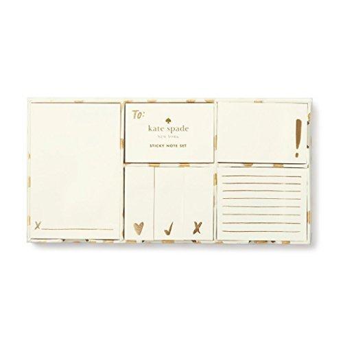 Kate Spade Sticky Note Set  Flamingo Dot  176255