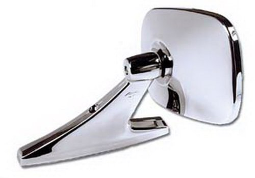 CIPA 18000 Universal Oblong Chrome Car Side Mirror