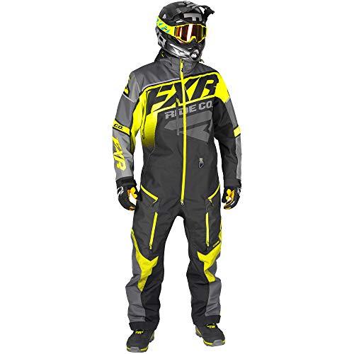 FXR CX Monosuit - Hi-Vis/Black/Charcoal - XLG