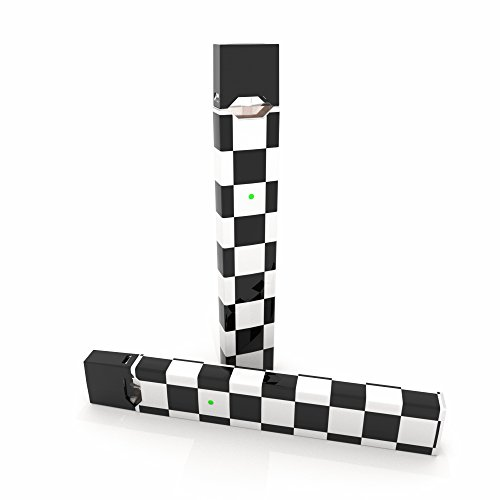 2 Pack - Checkers Decal Sticker Vinyl Skin for Juul Vape ()