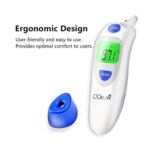 QQcute Digital Infrared Forehead Thermometer More Accurate Medical Fever Body Basal, Blue, 80 Gram by QQCute (Image #5)