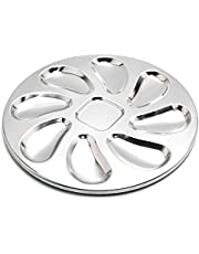 AVFDIJA 2 Pack Stainless Steel Oyster Plate, Oyster Plate Serving, Oyster Shell Shaped