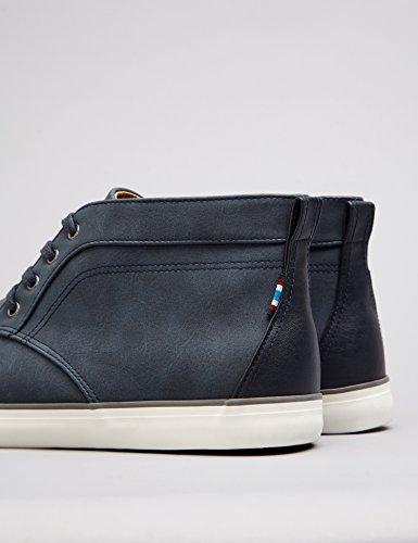 Sneaker Uomo Alto FIND a Navy Stringate Collo Blu 1wXxqvd