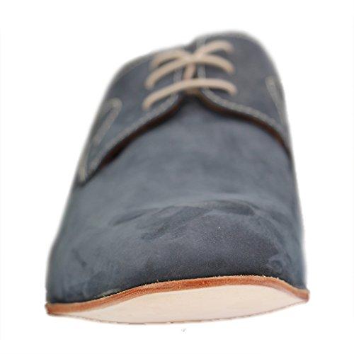 Bleu à Manz fille ville lacets de Chaussures pour qgO0gpS