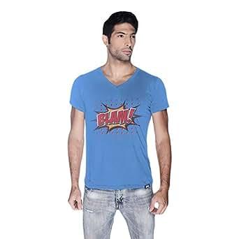 Cero Blam Retro T-Shirt For Men - L, Blue