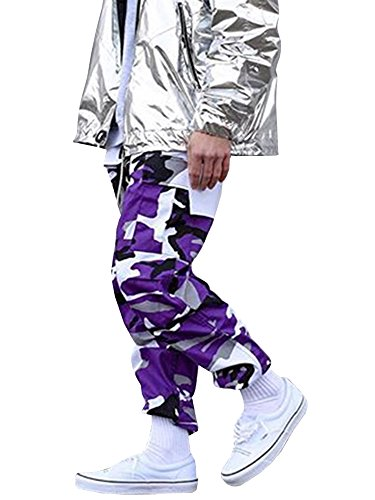 Purple Camouflage Pants - 7
