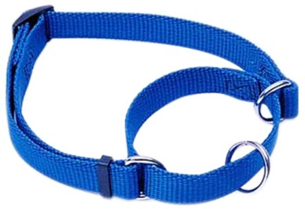No! Slip Adjustable Martingale Collar, 1""