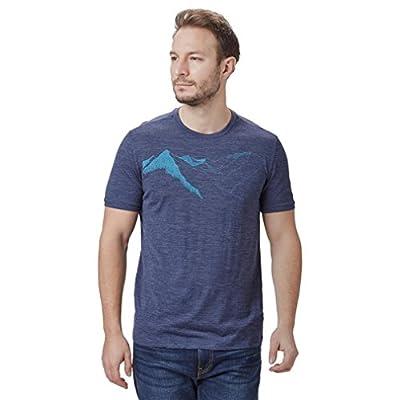 Icebreaker Merino Tech Lite T-Shirt W/Graphic, New Zealand Merino Wool