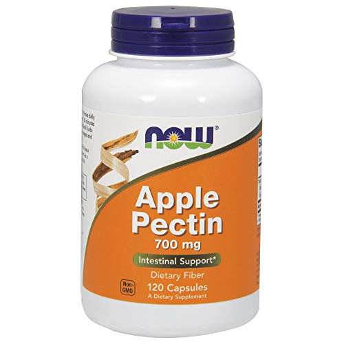 NOW Apple Pectin 700mg,120 Capsules