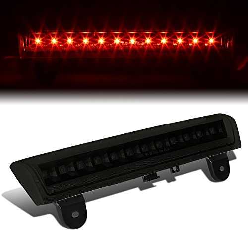 For Chevy Tahoe/Suburban/GMC Yukon GMT800 High Mount LED 3rd Brake Light (Black Housing Smoke Lens) - 3rd Smoked Brake Light