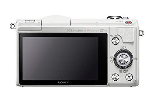 Sony Alpha a5000 Mirrorless Digital Camera with 16-50mm OSS Lens (White) - international version