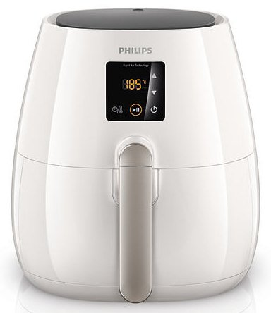 Philips HD9230/56 Digital AirFryer with Rapid Air Technology, White (Certified Refurbished)