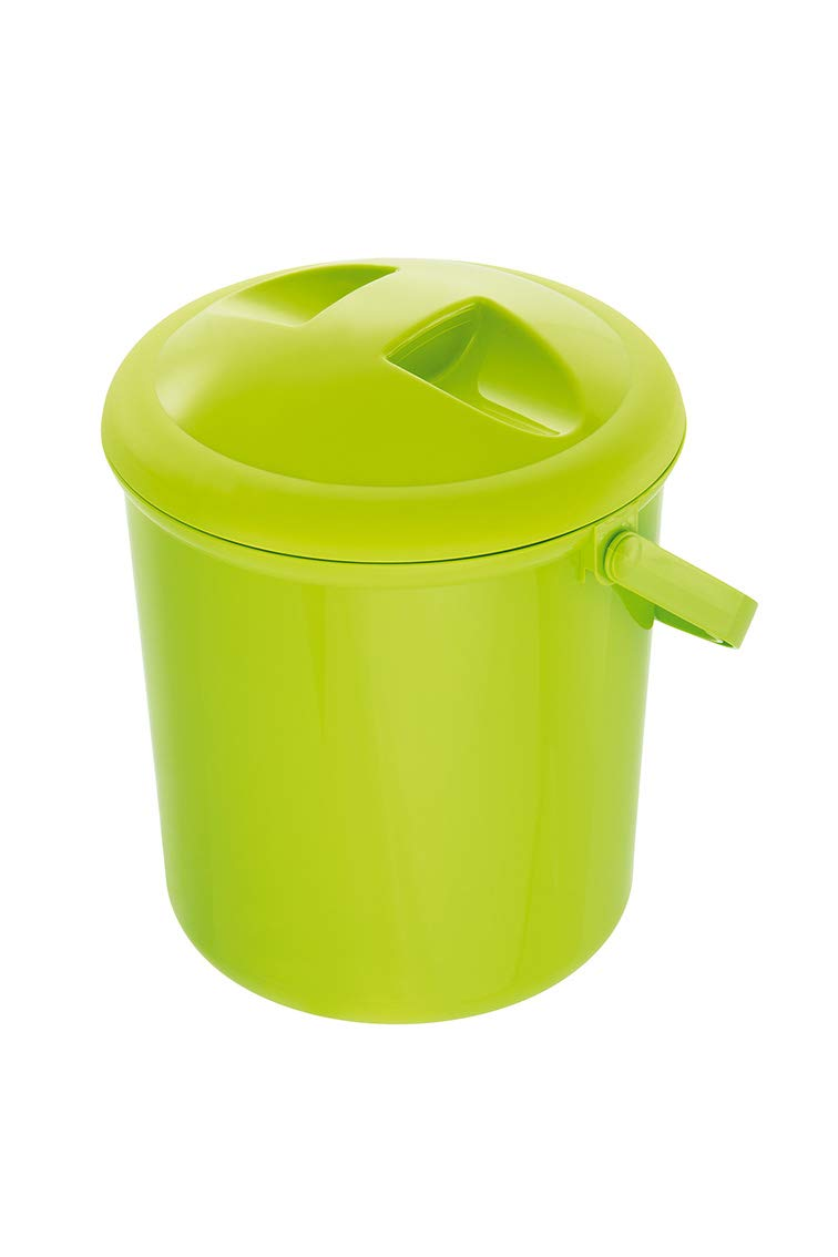 Rotho Baby Design Bella Bambina Nappy Pail, Apple Green by Rotho Babydesign