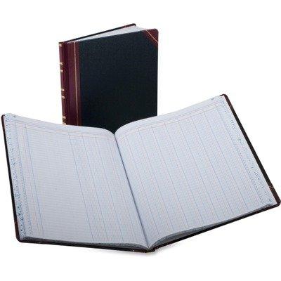 - Columnar Book, 12 Column, Black Cover, 150 Pages, 12 1/4 x 10 1/8