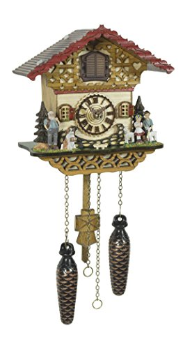 - Trenkle Quartz Cuckoo Clock Swiss House with Music TU 4228 QM