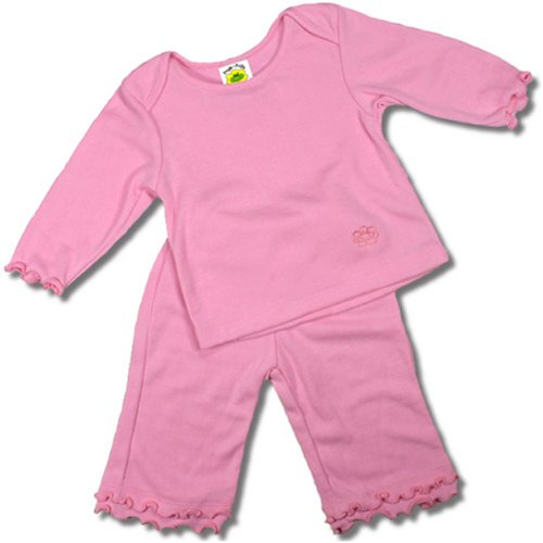 Girls Two Piece Playwear Outfit in Pretty Pink
