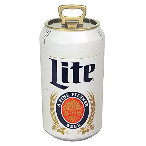 - Miller Lite ML06 059586648014 Can Cooler, Silver